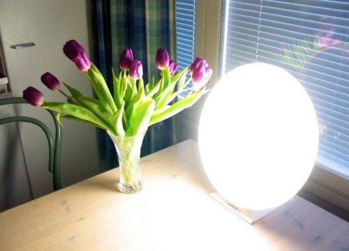 Bright light lamp